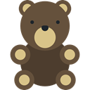 Fluffy, teddy bear, miscellaneous, Valentines Day, Animal, Animals, childhood, puppet DarkOliveGreen icon