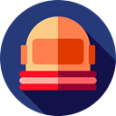 job, galaxy, Avatar, user, profession, Occupation, space, Aqualung, Astronaut, people MidnightBlue icon