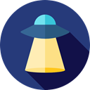 extraterrestrial, Alien, Ufo, spaceship, transportation, Science Fiction, transport Icon