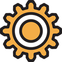 configuration, Seo And Web, Gear, cogwheel, Tools And Utensils, settings Black icon