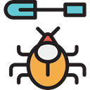 bug, beetle, insect, Animals, Animal Kingdom, Seo And Web Black icon
