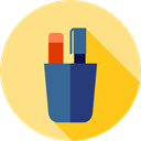 Tools And Utensils, Pen, writing, tool, Writing Tool, pencil, education, write, tools, pens Icon