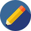 pencil, writing, Draw, Edit, Tools And Utensils SteelBlue icon