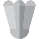 sport, Sports And Competition, sports, Shuttlecock, Badminton, birdie Silver icon