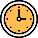 Tools And Utensils, Clock, time, square, watch, Time And Date, tool SandyBrown icon