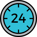 tool, Tools And Utensils, Time And Date, time, Clock, watch, square MediumTurquoise icon