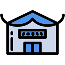 food, Shop, Architecture And City, commerce, chinese, Business, store Black icon