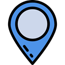 map pointer, interface, Map Location, pin, Pointer, placeholder, signs, Map Point, Architecture And City Black icon