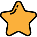 Favorite, interface, rate, signs, Shapes And Symbols, star, shapes, Favourite SandyBrown icon