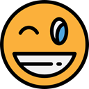 feelings, emoticons, joke, laugh, Emoji, Smileys SandyBrown icon
