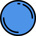 Multimedia Option, rec, shapes, Multimedia, button, Music And Multimedia, Circle, Circular CornflowerBlue icon