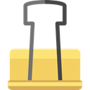 Business, Tools And Utensils, Paper Clips, Clips, Office Materials, tools, miscellaneous, Clip, paper clip, education, tool SandyBrown icon