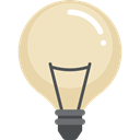 illumination, Tools And Utensils, invention, electricity, electronics, bulb, Light bulb, technology, Idea Bisque icon