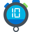 interface, time, Chronometer, Tools And Utensils, timer, Wait, stopwatch DarkSlateGray icon