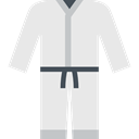 oriental, Kimono, sports, Martial Arts, Sports And Competition, Judo, Asian, Karate Lavender icon