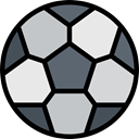Game, Ball, Sports And Competition, sports, equipment, Sport Team, Football, team, soccer Black icon