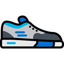 Tools And Utensils, shoe, Multisports, sport, equipment, Sports And Competition, sports, Trail Running, Running, Mountain Sports, shoes, Sportive Black icon
