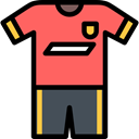 Soccer Jersey, sports, equipment, Sports And Competition, Game, Team Sport, Football Jersey, Football, soccer, fashion Tomato icon