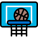 equipment, sports, Sports And Competition, team, Sport Team, Basketball DeepSkyBlue icon