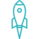 Rocket, Analysis, work, Money, Business, office, Finance LightSeaGreen icon