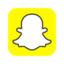 Logo, Snapchat, Application, Chat, photo, snap Yellow icon