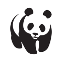 wwf, App, Mobile, screen, network, Animals, Iphone Black icon