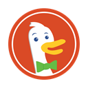 internet, Business, search, Duckduckgo, optimization, web, engine Chocolate icon