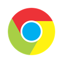 Browser, website, online, search, chrome, google, internet Black icon