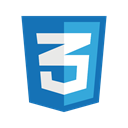 internet, Css, style, technology, web, website, css3 SteelBlue icon