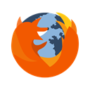 website, mozilla, internet, site, Browser, Firefox, Page OrangeRed icon