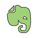 technology, Mobile, Iphone, Application, smartphone, Evernote, App DarkSeaGreen icon