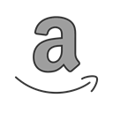 Business, store, website, Amazon, electronic, online, commerce Black icon