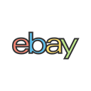 online, Business, Company, internet, website, web, Ebay Black icon