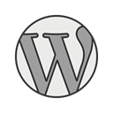 website, web, internet, homepage, Page, Wordpress, blog Black icon