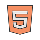 Coding, program, Development, Code, Programming, html5 SandyBrown icon