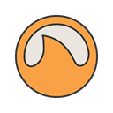 search, Browser, website, internet, Page, site, Grooveshark SandyBrown icon