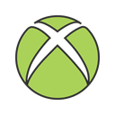 play, media, Game, video, xbox, Computer, microsoft DarkKhaki icon