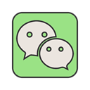 group, Wechat, Call, media, Social, Message, Contact Icon