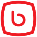 Bebo icon Crimson icon