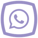Social, network, whatsap, media, Communication MediumPurple icon