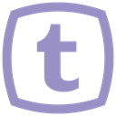 Tumblr icon MediumPurple icon