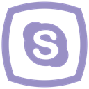 network, Skype, media, Communication, social ico MediumPurple icon