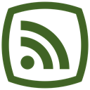 News, rss feed icon DarkOliveGreen icon