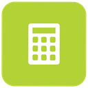 calculation, calculate, Accounting, Accountant YellowGreen icon