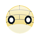 pokemon, monster, Go, cute, sandshrew Black icon
