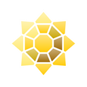pin, Badge, sunflower, Go, pokemon Black icon