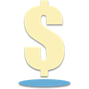 Dollar, Business, Money Moccasin icon