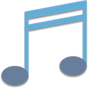volume, music, Melody Black icon