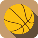 sports, Ball, Basketball, Game, sport Gold icon
