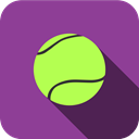 tennis, Game, sport, play, sports DarkOrchid icon
